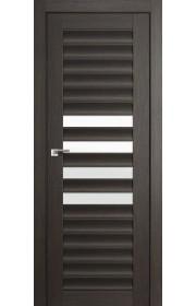 Дверь Профиль Дорс 55X Грей Мелинга Стекло Белый Триплекс