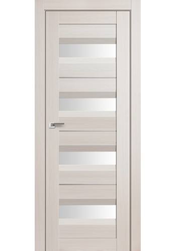 Дверь Профиль Дорс 60X Эш Вайт Мелинга Стекло Белый Триплекс