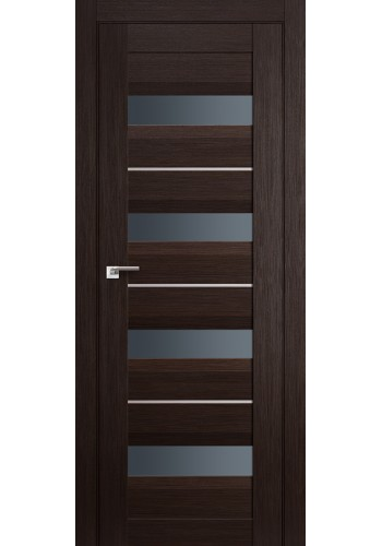 Дверь Профиль Дорс 60X Венге Мелинга Стекло Графит