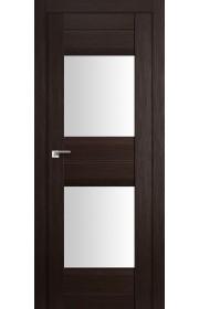 Дверь Профиль Дорс 61X Венге Мелинга Стекло Белый Триплекс