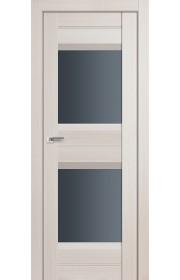 Дверь Профиль Дорс 61X Эш Вайт Мелинга Стекло Графит