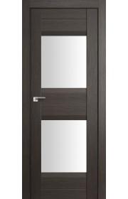 Дверь Профиль Дорс 61X Грей Мелинга Стекло Белый Триплекс
