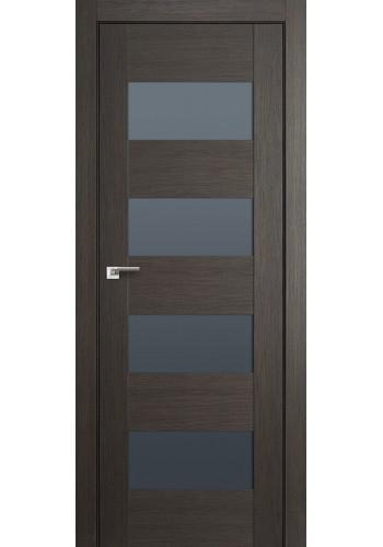 Дверь Профиль Дорс 46X Грей Мелинга Стекло Графит