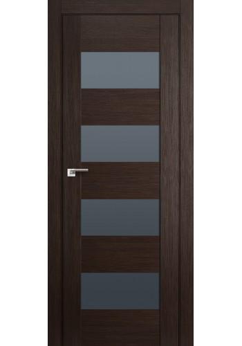 Дверь Профиль Дорс 46X Венге Мелинга Стекло Графит