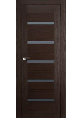 Дверь Профиль Дорс 48X Венге Мелинга Стекло Графит