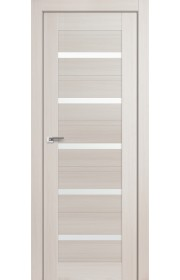 Дверь Профиль Дорс 48X Эш Вайт Мелинга Стекло Белый Триплекс