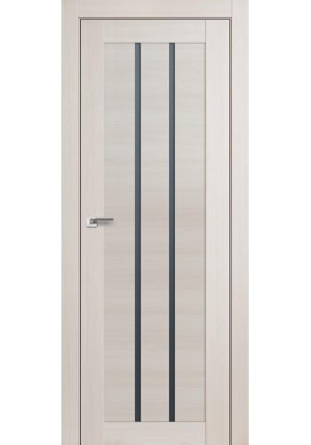 Дверь Профиль Дорс 49X Эш Вайт Мелинга Стекло Графит