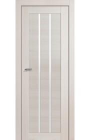 Дверь Профиль Дорс 49X Эш Вайт Мелинга Стекло Белый Триплекс