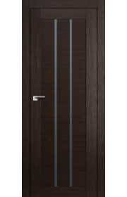 Дверь Профиль Дорс 49X Венге Мелинга Стекло Графит