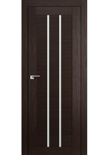 Дверь Профиль Дорс 49X Венге Мелинга Стекло Мателюкс