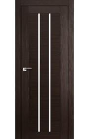 Дверь Профиль Дорс 49X Венге Мелинга Стекло Белый Триплекс