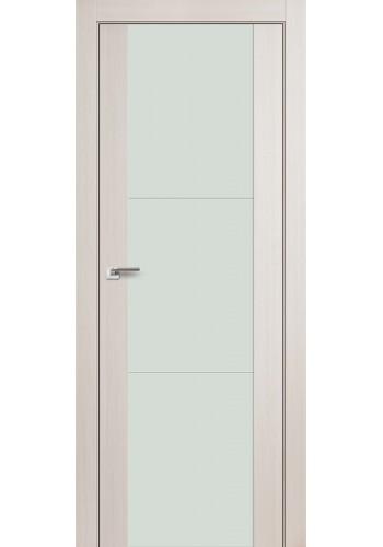 Дверь Профиль Дорс 22X Эш Вайт Мелинга Стекло Белый Лак