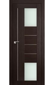 Дверь Профиль Дорс 43X Венге Мелинга Стекло Мателюкс
