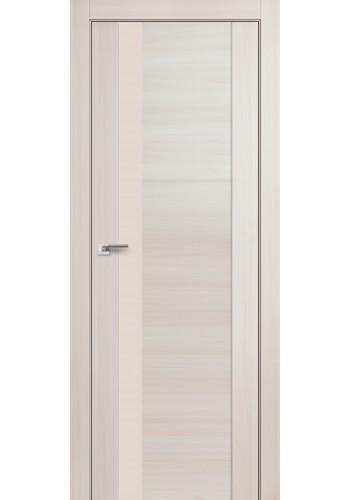 Дверь Профиль Дорс 62X Эш Вайт Мелинга Стекло Перламутровый Лак
