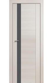 Дверь Профиль Дорс 62X Эш Вайт Мелинга Стекло Серебряный Лак
