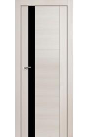 Дверь Профиль Дорс 62X Эш Вайт Мелинга Стекло Черный Лак