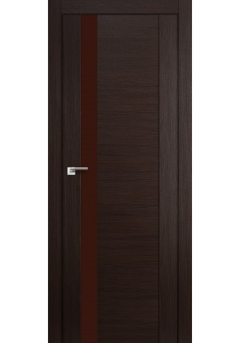 Дверь Профиль Дорс 62X Венге Мелинга Стекло Коричневый Лак