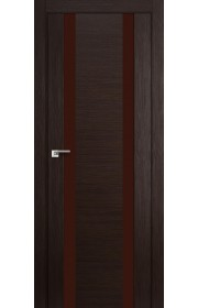Дверь Профиль Дорс 63X Венге Мелинга Стекло Коричневый Лак