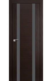 Дверь Профиль Дорс 63X Венге Мелинга Стекло Серебряный Лак
