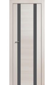 Дверь Профиль Дорс 63X Эш Вайт Мелинга Стекло Серебряный Лак