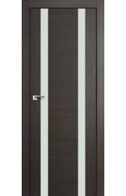 Дверь Профиль Дорс 63X Грей Мелинга Стекло Белый Лак