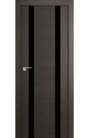 Дверь Профиль Дорс 63X Грей Мелинга Стекло Черный Лак