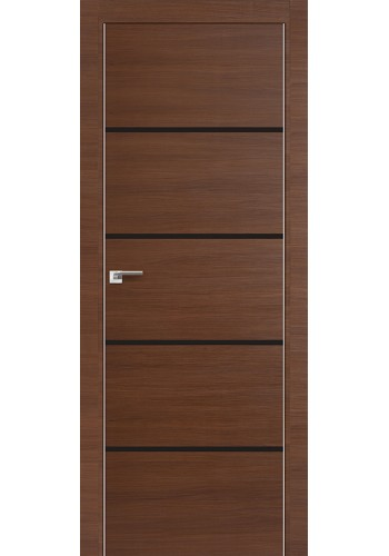 Дверь Профиль Дорс 20Z Малага Черри Кроскут Стекло Темно-коричневый
