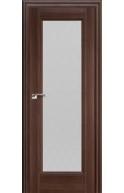 Дверь Профиль Дорс 65X Орех Сиена Стекло Ромб
