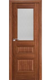 Дверь Профиль Дорс 67X Орех Амари Стекло Ромб
