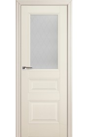 Дверь Профиль Дорс 67X Эш Вайт Стекло Ромб