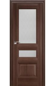 Дверь Профиль Дорс 68X Орех Сиена Стекло Ромб