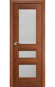 Дверь Профиль Дорс 69X Орех Амари Стекло Ромб