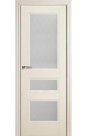 Дверь Профиль Дорс 69X Эш Вайт Стекло Ромб