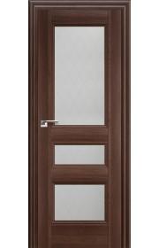 Дверь Профиль Дорс 69X Орех Сиена Стекло Ромб