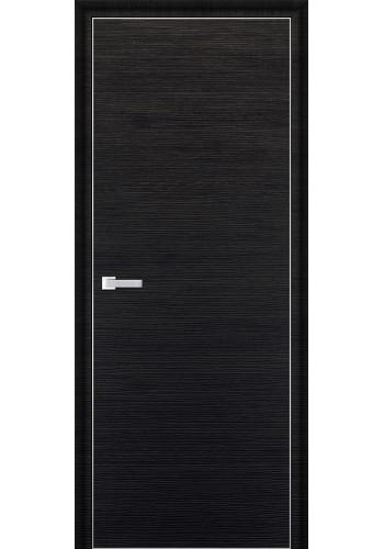 Дверь Профиль Дорс 1D Черный Браш ДГ