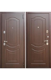 Двери входные Зетта Комфорт 3 Б1 F022 Темный орех