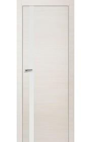 Двери Профиль Дорс 6Z Эш Вайт Кроскут Белый лак