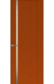 Двери Океан Буревестник 1 Красное дерево Стекло белое