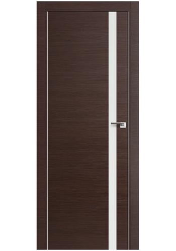 Двери Профиль Дорс 6Z Венге Кроскут Белый лак