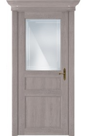 Двери Статус 532ГР Грей стекло Грань