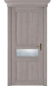 Двери Статус 534ГР Грей стекло Грань