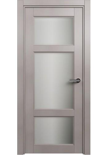Двери Статус 542Ф Грей стекло Фацет