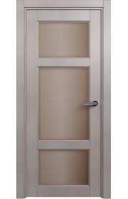 Двери Статус 542 Грей стекло Сатинато бронза