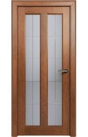 Двери Статус 612 Анегри стекло Английская решетка