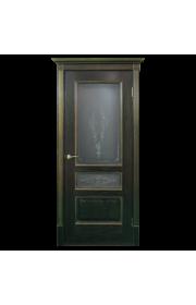 Двери Белоруссии Вена Черная патина с золотом ДО