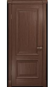 Двери Арт Деко Аттика-1 Американский орех ДГ