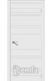 Дверь Дэмфа Квартет Плюс Белый ДГ