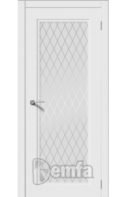 Дверь Дэмфа Рондо-Н Белый ДО